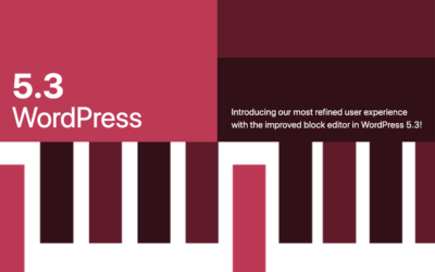 WordPress 5.3 Kirk Update