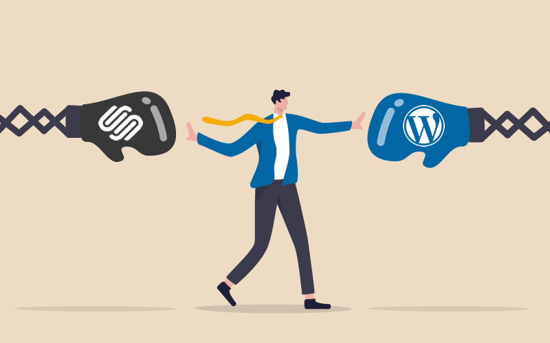 Which is better Squarespace or WordPress
