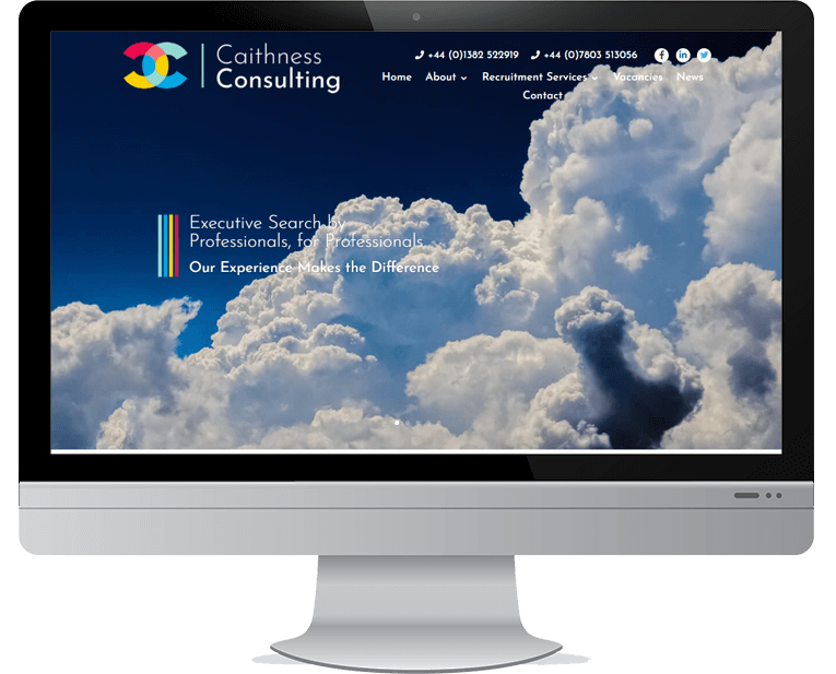 Caithness Consulting web design