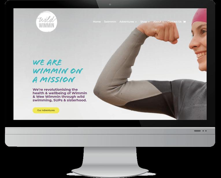 Wild Wimmin web design