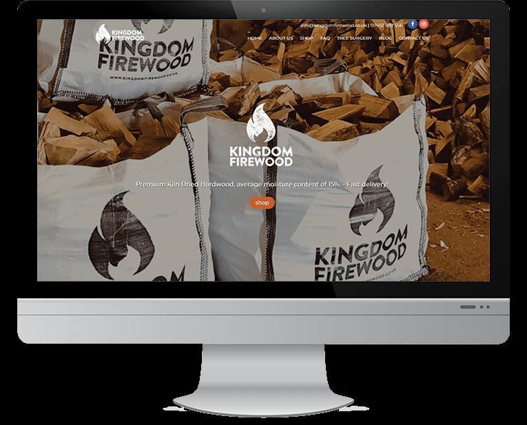 Kingdom Firewood web design